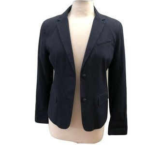 Gap Factory Navy Blue Lined Academy Blazer